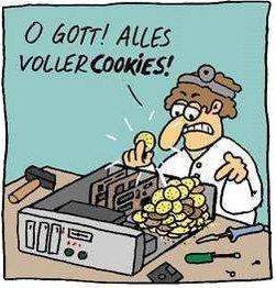 удаление cookies